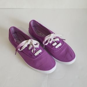 Keds Lace Up Sneakers Purple Size 6.5